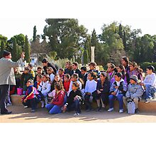 School Children on a Field Trip to Carthage Photographic Print