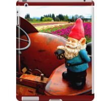 Rusty Fields Gnome iPad Case/Skin