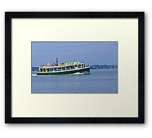 Ferry Me Away Framed Print