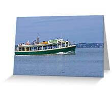 Ferry Me Away Greeting Card