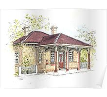 Ross Post Office by Muriel Sluce Poster