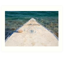 Surfs Up at the Dead Sea Art Print