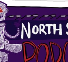 North Saint Podcast Logo Sticker