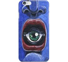Abstract-Open Your Mouth and See iPhone Case/Skin
