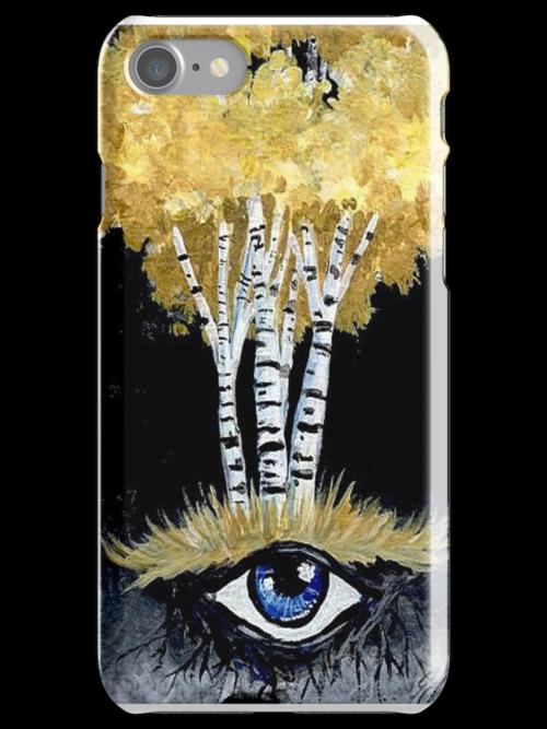 Tree of Vision - Golden Birch by dvampyrelestat