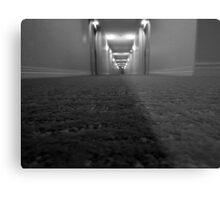 Creepy Hallway Metal Print
