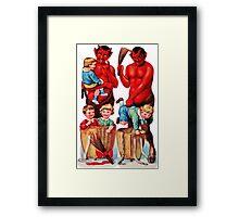 Krampus 10 Framed Print