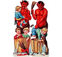 Krampus 10 Photographic Print