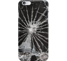 cracked screen iPhone Case/Skin