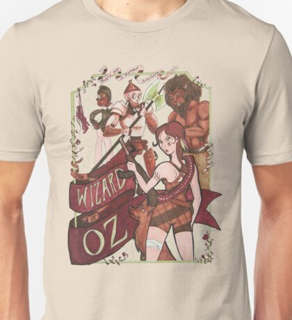 The Wizard of Oz {REMIX} Unisex T-Shirt