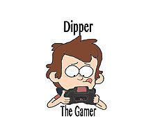 Dipper the Gamer Photographic Print