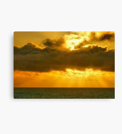 Sunset Skies Canvas Print