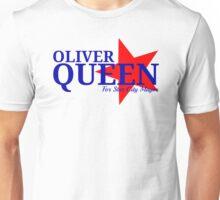 Oliver Queen For Star City Mayor - Patriotic Colors Design Unisex T-Shirt