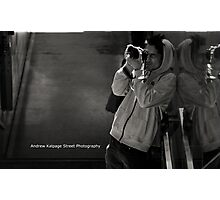 The Candid Street Photographer Pt1 Photographic Print