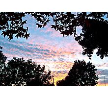 Sunset in Los Angeles Photographic Print
