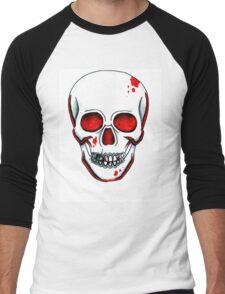 Red Skull Men's Baseball ¾ T-Shirt