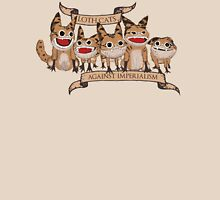 Loth Cats Against Imperialism Womens Fitted T-Shirt