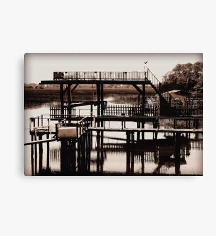 The River Retreat - revisited Canvas Print