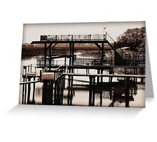 The River Retreat - revisited Greeting Card
