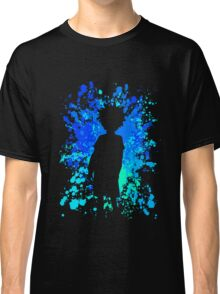 hunter x hunter killua paint splatter anime manga shirt Classic T-Shirt