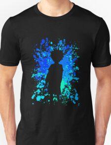 hunter x hunter killua paint splatter anime manga shirt T-Shirt