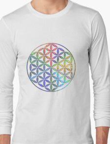 Flower of Life - Multi-Colour T-Shirt