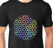 Flower of Life - Multi-Colour Unisex T-Shirt