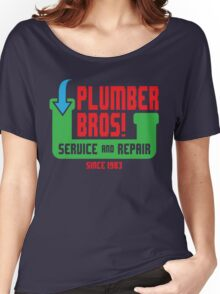PLUMBER BROS! Women's Relaxed Fit T-Shirt