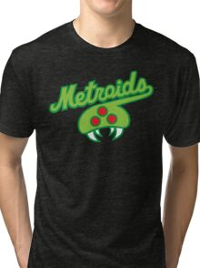 THE METROIDS Tri-blend T-Shirt