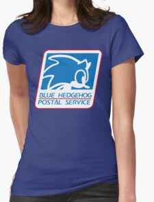 BLUE HEDGEHOG POSTAL SERVICE T-Shirt