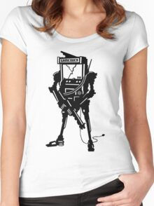 ARCADE BOT! Women's Fitted Scoop T-Shirt