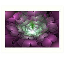 3D Blooms - Bouquet Art Print