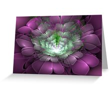 3D Blooms - Bouquet Greeting Card
