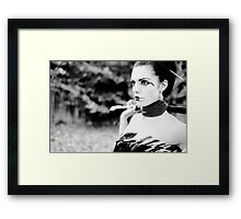 Stunner Framed Print