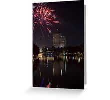 Fireworks - Chang Mai, Thailand Greeting Card