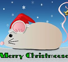 Merry Christmouse by tapiona
