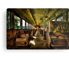 The Journey Ends Metal Print