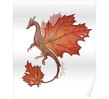 Maple Leaf Dragon Poster