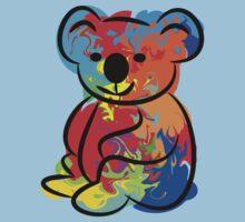 Colorful Koala Kids Tee