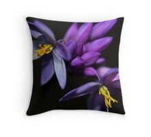 Sowerbaea juncea  Throw Pillow