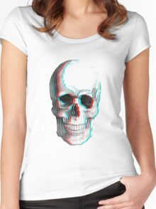 3DSkull Women's Fitted Scoop T-Shirt
