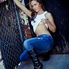 Tina in Blue Jeans-3 by ScaredylionFoto