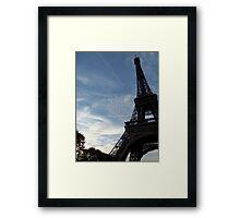 La Tour de Eiffel, Paris Framed Print