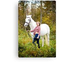 Tina and Abner-1 Canvas Print