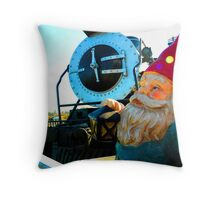Engine Gnome Throw Pillow