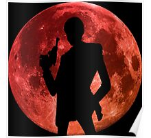 lupin the 3rd moon anime manga shirt Poster