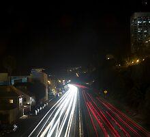 Nighttime Traffic by Adam G