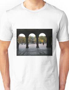 Central Park, Bethesda Fountain, Fall Colors Unisex T-Shirt