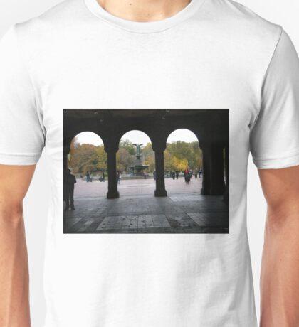 Central Park, Bethesda Fountain, Fall Colors T-Shirt