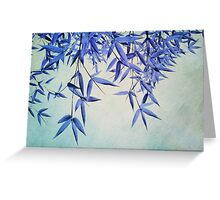 bamboo susurration  Greeting Card